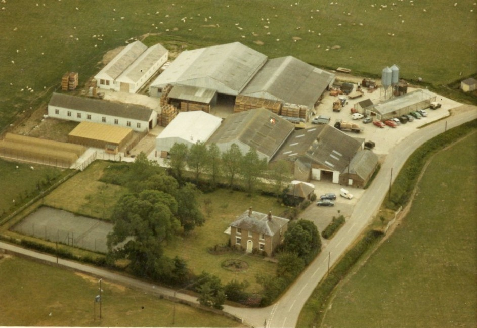 Brooker Farm in the 1970s