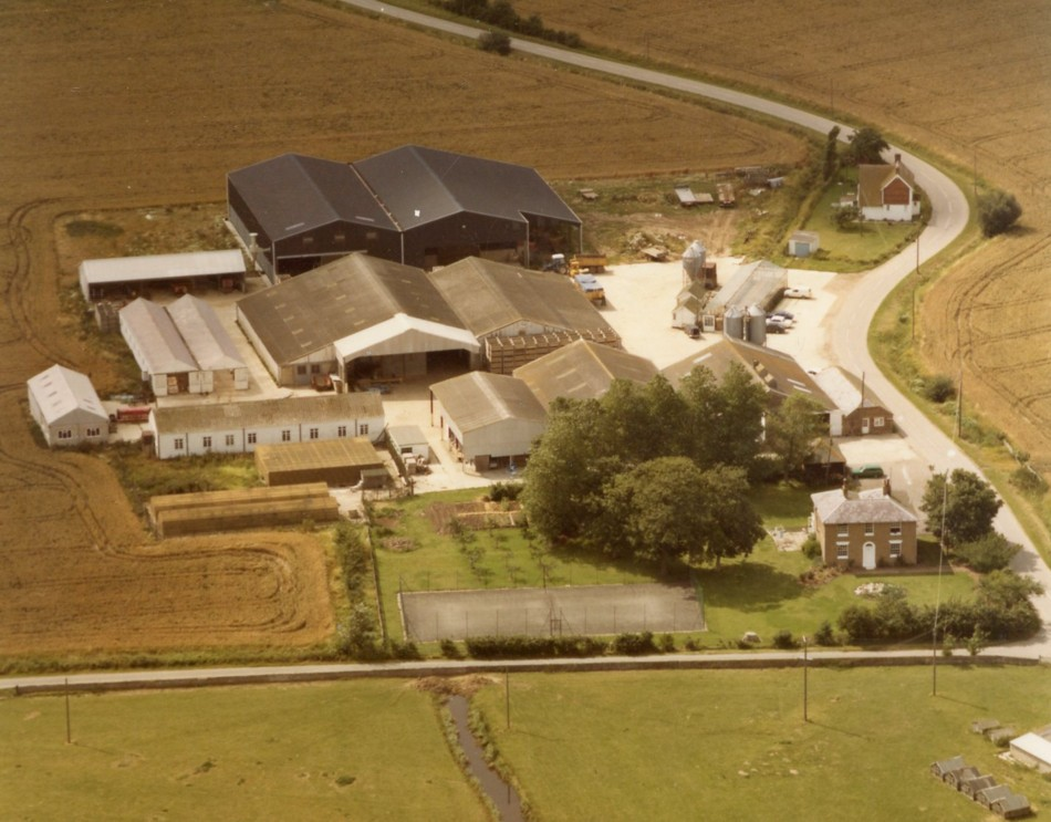Brooker Farm in the 1980s