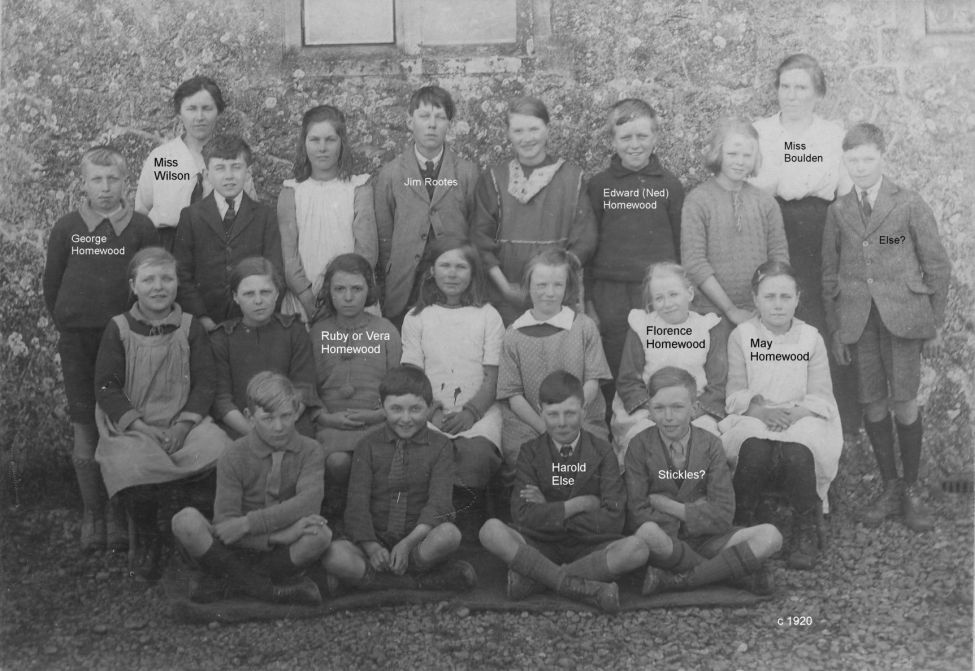 Newchurch Village School 1920
