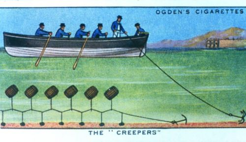 'The Creepers', Ogden's 'Smuggling' Cigarette Card c.1920