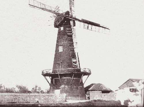 Newchurch Tower Windmill circa 1900