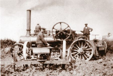 Steam Engine and Plouch c.1925